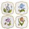 Anna Weatherley Square Flower Canape Plates