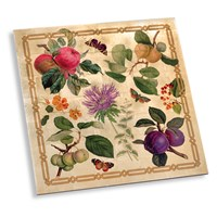 Decoupage Garden Gold Placemat