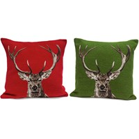 Stately Stag Pillows