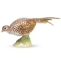 Herend Reserve Female Pheasant Figurine