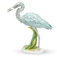 Herend Reserve Great Blue Heron FIgurine