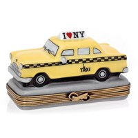 New York Yellow Taxi Limoges Box