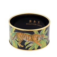 Halcyon Days Tiger & Palm Bangles