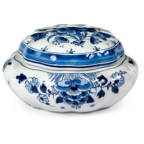 Blue Royal Delft Ceramic Sweet Box
