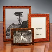 Wood Inlay Picture Frames