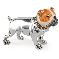 Sterling Silver Bulldog Figurine