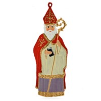 St. Nicholas Pewter Ornament