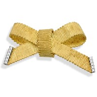 Gros Grain Diamond Ribbon Pins