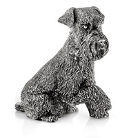 Sterling Silver Snauzer Sculpture