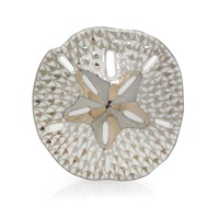 Herend Sand Dollar Platinum Figurine