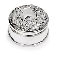 Sterling Silver Jewel Box
