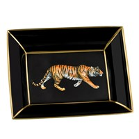 Halcyon Days Tiger Trinket Tray