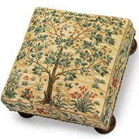 Tree of Life Tapestry Footstool