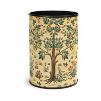 Tree of Life Tapestry Wastebasket