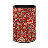 Evenlode Tapestry Wastebasket, Red