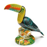 Royal Crown Derby Rio Toucan Paperweight