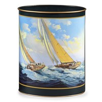 Racing Yachts Wastebasket