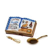 Crepes Suzettes Cookbook Limoges Box