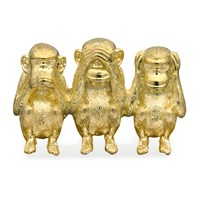Three Wise Monkeys Pin