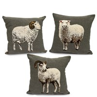 Tapestry Sheep Pillows