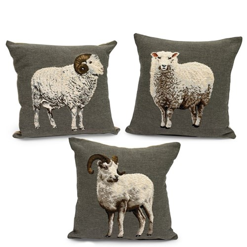 Tapestry Sheep Pillows Pillows Home Decor Accessories