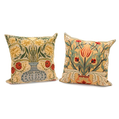 Morris Flowers Tapestry Pillows