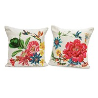 Birds of Paradise Tapestry Pillows