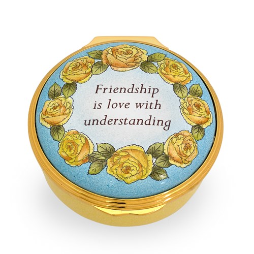 "Halcyon Days ""Friendship is Love with Understanding"" Box"