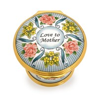 Halcyon Days Mother's Day 2018 Enamel Box
