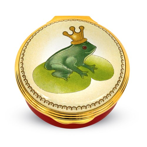 Halcyon Days Frog Prince Box