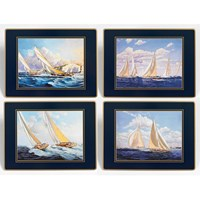 Racing Yachts Mats and Coasters