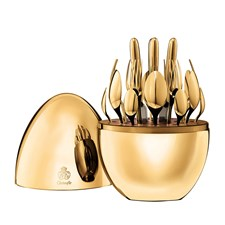 Christofle Mood 24 Piece 24K Gold Plated Storage Capsule