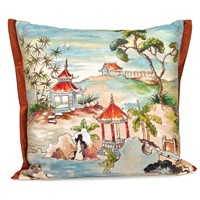 Pagoda Silk Pillow
