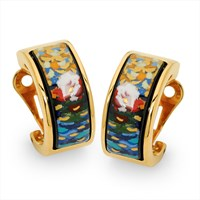 Claude Monet Creole Earrings, Posts