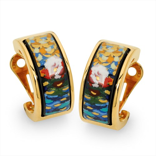 Freywille Claude Monet Orangerie Creole Earrings, Posts