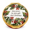 Halcyon Days May Peace Be Your Gift This Christmas Enamel Box