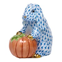 Herend Autumn Bunny Figurine