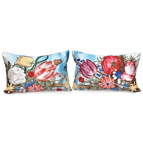 Bountiful Floral Pillows