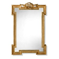 Fluted Bow Mirror
