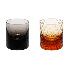 Moser Bonbon Double Old Fashioned Glasses