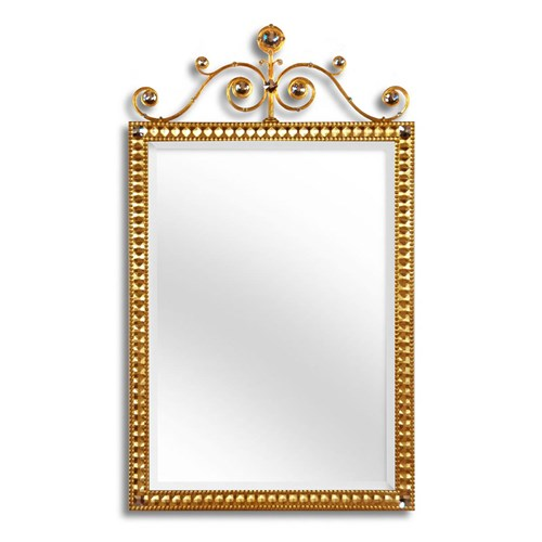 Bennett Scroll Top Mirror