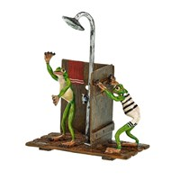 Austrian Bronze Shower Frogs