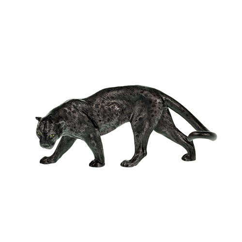 Austrian Bronze Black Panther