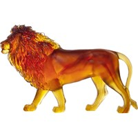 Daum Pate de Verre Crystal Sand Lion, Limited Edition