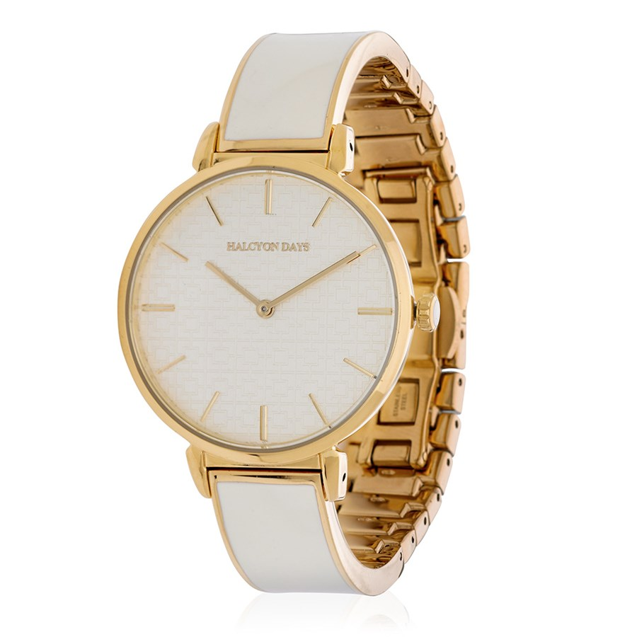 7d26804a4ea Halcyon Days Maya Plain Enamel Watches | For Women | For Women | Holiday  Gift Guide | ScullyandScully.com