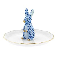 Herend Bunny Ring Holder