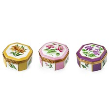 Flower Octagonal Boxes