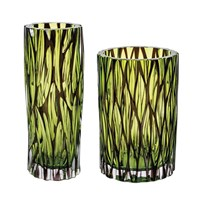 Moser Wood Vases