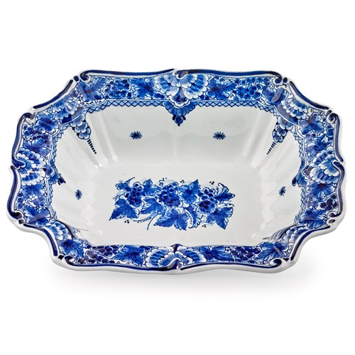 Blue Royal Delft Handpainted Bowl
