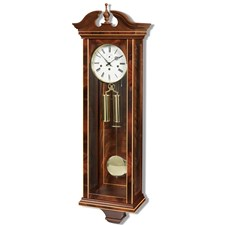 Arlington Mahogany Regulator Wall Clock